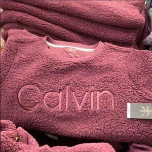 Calvin Klein Fuzzy Soft Sweatshirt